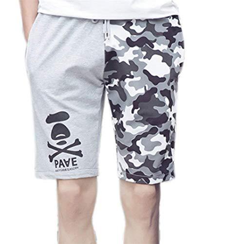 Print Skeleton De Plage Cool Grau Vêtements Skull N Boxer Lannister Pour Fashion Pantalons Hommes Camouflage Fête xAgaInw