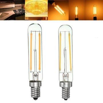 E14 Led Bulbs - Dimmable Retro 2w E12 E14 T20 Refrigerator Led Cob Filament Bulb Warm White - Refrigerator Bulb - 1PCs