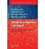 img - for [(Advances in Machine Learning II: Dedicated to the Memory of Professor Ryszard S. Michalski )] [Author: Jacek Koronacki] [Jan-2011] book / textbook / text book