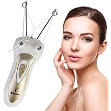 Electric Body Facial Hair Remover Pull Surface Device Defeatherer Cotton Thread Epilator Rechargeable Epilator Ladies Shaver