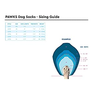 RC Pet Products Pawks Dog Socks, Small, Puppet