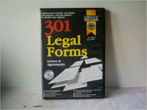 Amazonin Buy Legal Forms Letters And Agreements Software Book - Legal forms software reviews