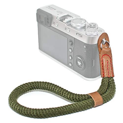 VKO Mirrorless Camera Neck Strap Compatible with Fujifilm X-T30 X-T4 X-T3 X100F X-T20 X-T10 X-T2 X70 X-Pro2 X-E3 X-E2 X-T1 X-Pro1 X30 XQ2 X100S X100T Cameras Climbing Rope Shoulder Strap Red