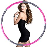 Best Hula Hoops For Adults - osvtni Hula Hoop for Adults Fitness Exercise Hula Review
