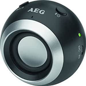 AEG BSS 4817 - Altavoz con Bluetooth, color negro