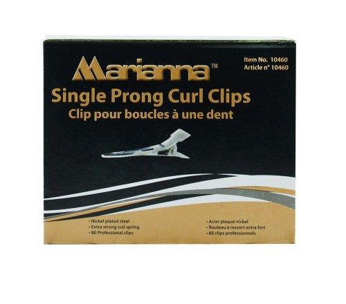 Marianna Single Prong Curl Clip 80 pcs