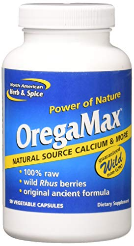 (North American Herb & Spice Oregamax, 90 Vegi-Caps)