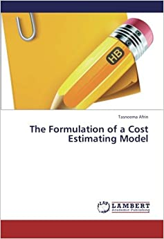 Book The Formulation of a Cost Estimating Model