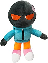 10 Inches Friday Night Plush Boys, Cute Plush Toys with Microphones, Creative Plush Gifts for Boys and Girls