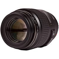 Canon EF 100mm F/2.8 Macro USM EOS Camera Lens with Accesssory Bundle
