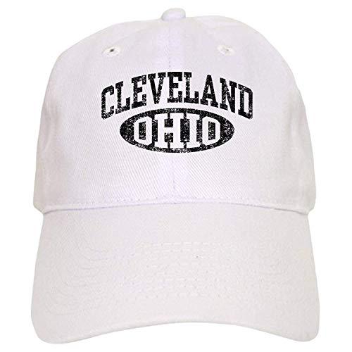 (Cleveland Ohio - Baseball Cap with Adjustable Closure, Unique Printed Baseball Hat 1)