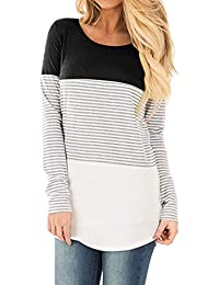 Short Sleeve and Long Sleeve Round Neck Triple Color...