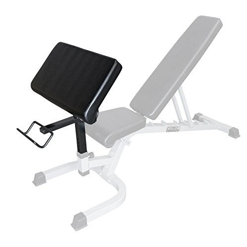 Valor Fitness EX-2 Preacher Curl Attachment