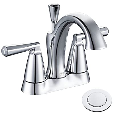 Enzo Rodi Two-Handle Low-Lead Brass Widespread Bathroom Faucet,Polished Chrome,ERF2311344CP-10