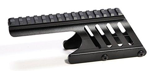 - Hammers Shotgun Scope Skeleton Saddle Mount for 12GA Remington 870 Pump