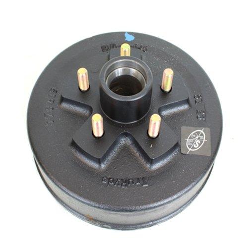 Axles Southwest Wheel 5-hole 4.5 Bolt Circle Brake Drum for 3,500 lb