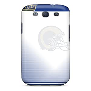 Samsung Galaxy S3 QFl13534oDYJ Customized Attractive St. Louis Rams Pictures Protector Hard Phone Cases -JamesKrisky