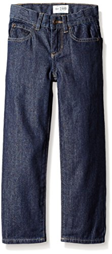The Children's Place Boys' Loose Fit Jeans, Rinse, 8 Husky