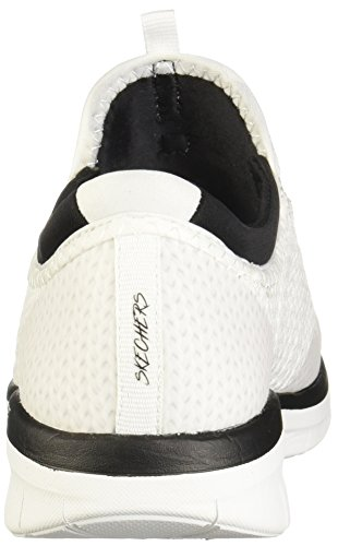 Sneaker Fashion Women's Black Image Mirror 0 Synergy White 2 Skechers 0YqgYw