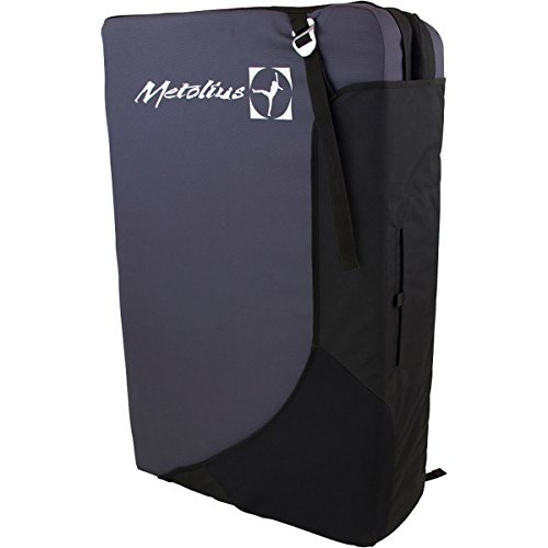 Metolius Session Crash Pad Grey / Black One Size (Rock Climbing Crash Pad)