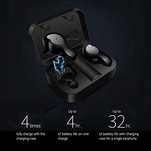 Auriculares Bluetooth V5.0 in Ear, Onoper Mini Auricular inalámbricos con Microfonon Deportivos/estéreo de reducción de Ruido IPX6 Auriculares a Prueba de ...