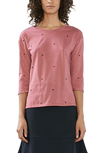edc by Esprit, Camiseta para Mujer Rosa (blush 665)