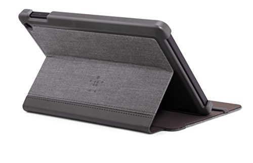 Belkin Chambray Case for Fire HD 7 (only fits 4th Generation Fire HD 7), Blacktop