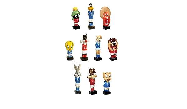 PRIME Faboland-Fèves Looney Tunes - Futbolín de Porcelana para ...