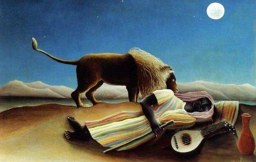 - Art Oyster Henri Rousseau Sleeping Gypsy - 24.1