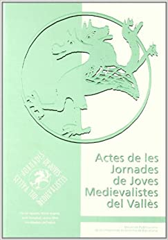 Book Actes de les jornades de juves medievalistes del Valles