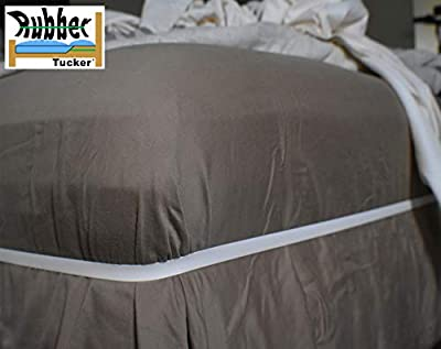 The Rubber Hugger - The Bed Sheet Holder Band - New Approach for Keeping Your Sheets On Your Mattress - No Sheet Straps, Sheet Clips, Grippers, or Fasteners.