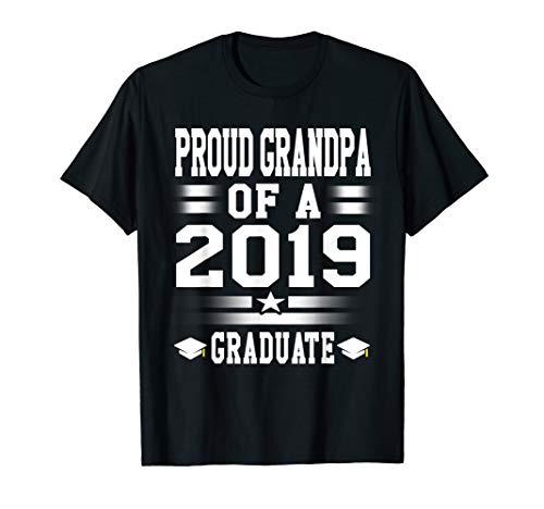 - Proud Grandpa Graduate 2019 Tshirt Graduation Dad, Daddy Tee