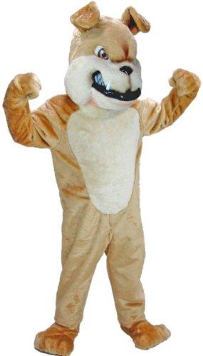 Tan Bulldog Mascot Costume (Bulldog Mascot Costume)