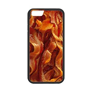 iPhone 6 Protective Case - Bacon Hardshell Cell Phone Cover Case for New iPhone 6 by mcsharks