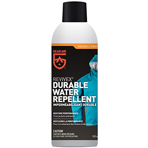 Gear Aid Revivex Durable Water Repellent (DWR) Spray for Reproofing Jackets