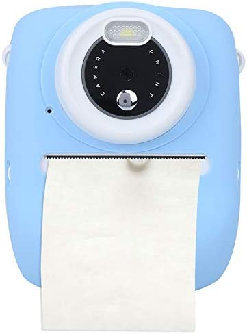 T opiky 1080P Kinderkamera, 12MP 1100Mah 2,4 '' Farbdisplay Kinder Druckkamera Kreative Kinder Camcorder mit Silikonschutzhülle Mädchen Jungen