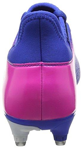 adidas X 16.3 Sg, Botas de Fútbol para Hombre Azul (Blue / Ftwr White / Shock Pink)