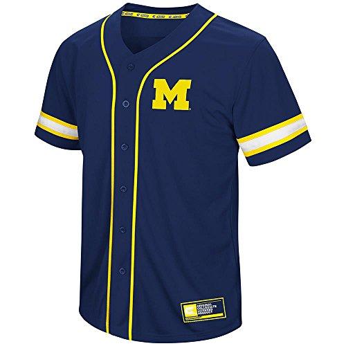 Mens Michigan Wolverines Baseball Jersey - 2XL