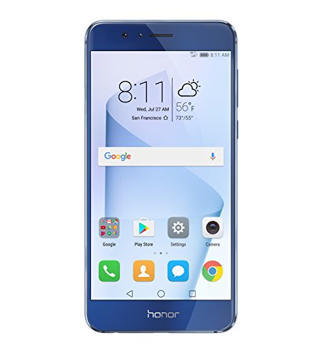 Huawei Honor 8 Dual Camera Unlocked Phone 64GB - Sapphire Blue -...