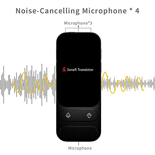 Alcorrect JoneR Voice Language Translator Device, 3.1inch Touch Screen, 45 Languages+57 Accents Instant Two-Way Translator, Support Photo Translation & 6 Languages Offline Translation, GO by Alcorrect (Image #4)
