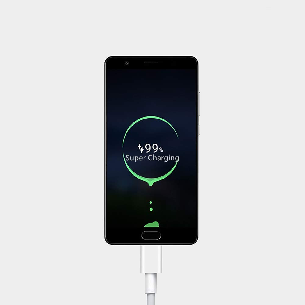 TriRanger Type C Cable USB Fast Charger Supercharge Compatible Wiht Huawei Mate20 10 9 MateRs, P20 Pro P10 Plus, Honor Magic, Samsung Galaxy S9 S8 Plus Note 8, Google Pixel 2 XL, Moto Z, LG V30 G5 G6