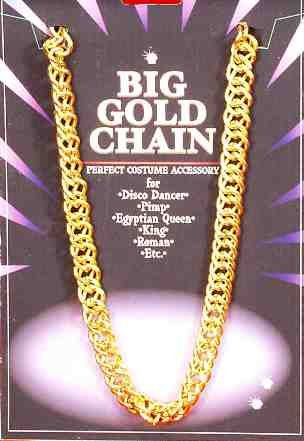 Gold Costume Necklace (Big Gold Chain)
