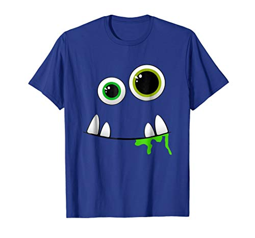 Cute Monster Face Halloween Group Costume Gift
