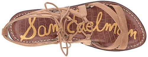 Sam Edelman Women's Gemma Sandal Golden Caramel Suede cheap 2014 new discount new great deals online aYC4oLqA8
