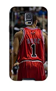 sports nba basketball backview derrick rose depth of field chicago bulls NBA Sports & Colleges colorful Samsung Galaxy S5 cases
