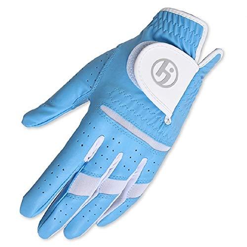 HJ Ladies Fashion Golf Glove Worn on Left Hand Aqua Medium