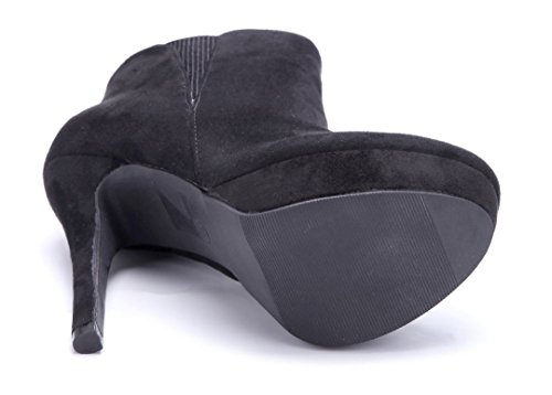 Damen Stiefel Schuhtempel24 Schuhe Stiefeletten Plateau dBroWeCx