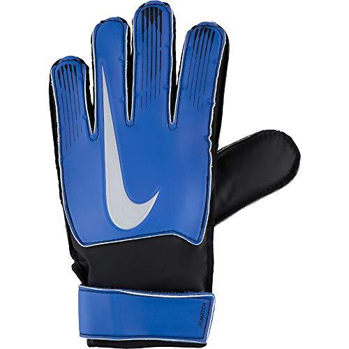Nike Junior Goalkeeper Match Gloves (Racer Blue/Black/Silver, 4)