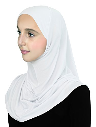 Girls-Hijab-Cotton-Pre-Teen-Instant-Pull-On-Headscarf