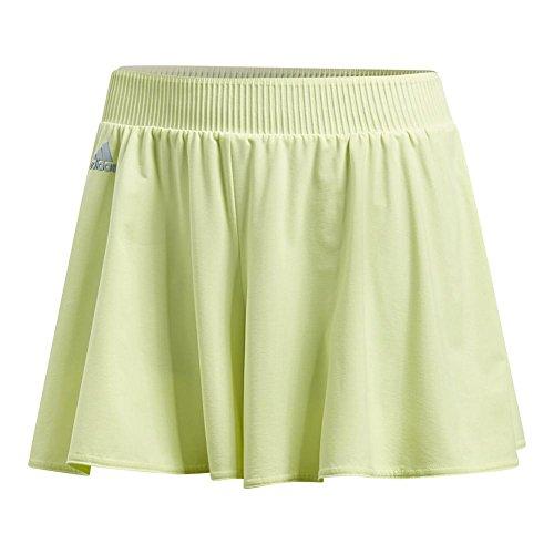Tennis Panties Shorts - Adidas Melbourne Hosenrock Tennis Shorts, Semi Frozen Yellow (X-Large)